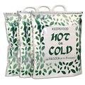 Hot Cold Food Bag (3 Pack) Reusable, Multipurpose Insulated Thermal Cooler for Warm Lunch Meals, Grocery/Fruit/Meat/Vegetables, Ice-cold Beers & Beverages Keeps Frozen Up to 3 Hours