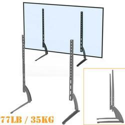 Brand New LEADZM 40-65 Inch Simple TV Bracket,Table Top Flat Wall Mount Bracket Desktop TV Mount Table Top Flat Screen TV Stand Base
