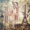 Chinatera Full Round Drill Mosaic Craft Picture DIY Paris 5D Diamond Painting Poster