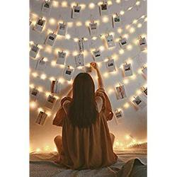 LED String Lights 66ft 200 LEDs, Waterproof Copper Wire Led Fairy Lights for Outdoor & Indoor, Decorative Lights for Christmas, Bedroom, Garden, Patio, Party, UL Approved (Warm White)