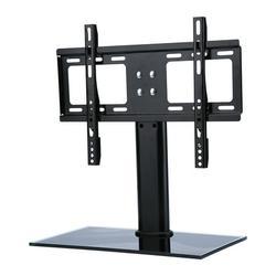 Fugacal TV Tabletop,TV Table Bracket,26-32 Adjustable Universal TV Stand Pedestal Base Mount Flat Screen TV Bracket
