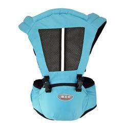 Baby Carrier Waist Stool Walkers Infant Sling Hold Waist Belt Backpack Breathable Hip Seat Belt Kids Baby Hip Seat Sky Blue