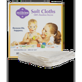 Milkies Soft Cloths - Reusable, 5 super soft baby wipes per package