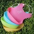 Windfall Silicone Baby Bibs, BPA Free Waterproof Soft Durable Adjustable Silicone Bibs for Babies & Toddlers Lovely Baby Infants Kids Cute Silicone Bib Lunch Feeding Bibs Cute Waterproof