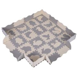 Uheoun Baby Play Mat Baby Floor Mat Baby Crawling Mat, Non-Slip Non-Toxic Foam Interlocking Floor Mats Waterproof Portable Foam Activity Mat Babycare Playmats for Babies and Toddlers