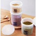 3 PCS Airtight Food Storage Container Set Airtight Kitchen Storage Containers Kitchen Pantry Organization and Storage with Easy Lock Lids