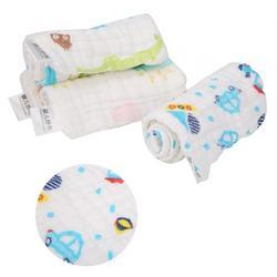 LYUMO 4Pcs Baby Thick Cloth Diaper, Cartoon Animal Design Soft Comfortable Plush Urine Mat Pad Adjustable Washable Nappy Cover For Toddler Newborn
