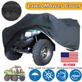 55inch/70inch Black Lawn Mower Tractor Cover Garden Outside Yard Waterproof UV Protector