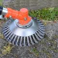 Weed Brush, Round Brushes, Knife, Weed Brush, Woven Cone Brush, Base Diameter 8 Inches, To Remove Dirt, Rust, Weeds And Moss