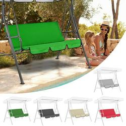 MLfire Garden Swing Hammock Bench Cover Outdoor Patio Furniture Swing Seat CoverWaterproof Cushion (Only Seat Cover)