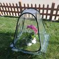 Topcobe Indoor Outdoor Mini Pop up Greenhouse for Plant, Gardening Flowerpot Cover Backyard Flower Shelter, Green