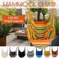 Hammock Chair Swing Hanging Hammock Chair , Hammock Swing Seat Cotton for Patio, Porch, Bedroom, Backyard, Indoor or Outdoor - Support 330lbs