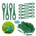 Tapfloewr Garden Lawn Garden Mower Mower Blade Gourd Shape 100Pc