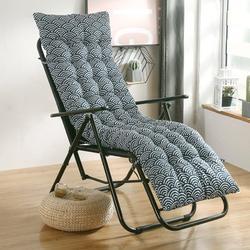 "61x19x3"" Indoor Outdoor Soft Comfortable Sun Lounger Cushion Pads Chaise Lounge Cushion Thicken Bench Cushion Rocking Chair Cushion for Patio Garden Deckchair Recliner"