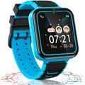 Jeu montre Enfants montre Intelligente, 16 Jeux Musique Téléphone Smartwatch pour Garçons Filles SOS