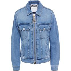 Denim Jacket - Blue - Moschino Jackets