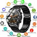 The new smart watch 1.3 inch color full touch screen smart watch heart rate blood oxygen bluetooth smart bracelet phone music motion tracker for Huawei Android Ios mobile watch