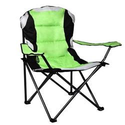 Camping Chair, Lightweight and Compact Portable Folding Chair, Steel Tube Frame Camping Chair, Sturdy & Durable, Folding Chair with Cup Holder & Cushion- Fit for Travel, Hiking, Camping, Beach. T01