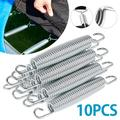 MLfire 10 Pcs 5.5 Inch Trampoline Spring Excellent Bounce Galvanized Steel High Tensile Replacement Kit