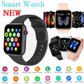 New Smart Watch 1.54'' Metal Shell Smart Watch Full Touch Smart Watches Bluetooth Call Sports Fitness Band Heart Rate Blood Pressure Testing Music Watch