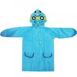 Waterproof Coats Unisex Kids Poncho Funny Lightweight Cartoon Rain Suit Hooded Rain Jacket Girl Raincoat Boy