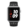 Apple Watch Series 3, 42MM, GPS, Silver Aluminum Case, Anthracite Black Nike Sport Band (Non-Retail Packaging)