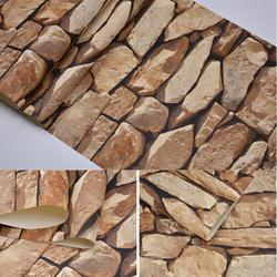 10M*53CM Retro 3D Effect Brick Wallpaper Roll For The Wall Stone Live Room Wall Paper Cafe Bar Restaurant Clothing Shop Decor Wallpaper