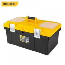 TemGpair Plastic Tool Box, Hardware Household Plastic Portable Electrician Multi-Function Repair Storage Box Toolbox