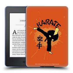 Head Case Designs Officially Licensed Cobra Kai Graphics 2 Karate Logo Soft Gel Case Compatible with Amazon Kindle Paperwhite 1 / 2 / 3