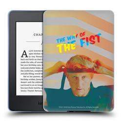 Head Case Designs Officially Licensed Cobra Kai Graphics 2 The Way Of The Fist Soft Gel Case Compatible with Amazon Kindle Paperwhite 1 / 2 / 3