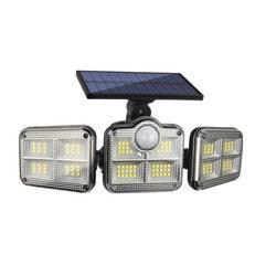 Solar Lights Outdoor, LED Bright Wireless Solar Motion Sensor Lights Outdoor with 3 Lighting Mode, Adjustable & Wide Lighting Area, IP65 Waterproof Durable LED Flood Lights
