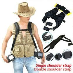 New Portable Shoulder Camera Strap for DSLR Digital SLR Camera Canon Nikon Sony Quick Rapid Camera Accessories Neck Strap Belt