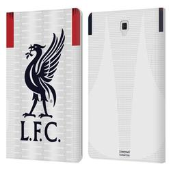 Head Case Designs Officially Licensed Liverpool Football Club 2019/20 Kit Away Leather Book Wallet Case Cover Compatible With Samsung Galaxy Tab S4 10.5 (2018)