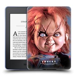 Head Case Designs Officially Licensed Bride of Chucky Key Art Doll Soft Gel Case Compatible with Amazon Kindle Paperwhite 1 / 2 / 3