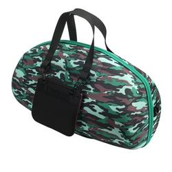 AUTONE Portable Camouflage Pattern Travel Carry Case Cover Bag For Boombox Bluetooth Wireless Speaker