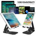 4-10 inch Range Multi-Angle Tablet Stand Holders, Adjustable iPad Stand, Cell Phone Stands, iPhone Stand, Nintendo Switch Stand, iPad Mini Stands and Holders for Desk , Black