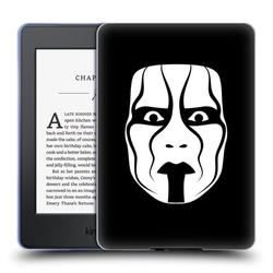 Head Case Designs Officially Licensed WWE Sting Face Soft Gel Case Compatible with Amazon Kindle Paperwhite 1 / 2 / 3