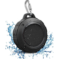 Outdoor Waterproof Bluetooth Speaker, Wireless Portable Mini Shower Travel Speaker with Subwoofer, Enhanced Bass, for Sports, Pool, Beach, Hiking, Camping