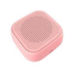 Rinhoo Loudspeaker Bluetooth V5.0 360 ° Surround Sound Speaker 3.5mm Portable Audio Speaker, Pink