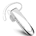 Bluetooth Headset,Wireless Bluetooth Earpiece with Noise Cancelling Mic, Ultralight Earphone Hands-Free for Trucker Driver WHITE
