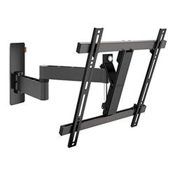 Vogel's Wall 3245 Full-Motion TV Wall Mount for 32-55 inch TVs Max. 44 lbs (20 kg) Swivels up to 180º Tiltable TV Wall Mount Max. VESA 400x400 Universal Compatibility, Black (Wall 3245 B)