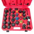 33Pcs Cooling System Radiator Pressure Tester Test Tool Kit