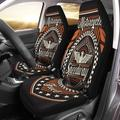 ZHANZZK Set of 2 Car Seat Covers Eagle Vintage Motorcycle Speedway Tee Graphics Badge Motor Label Universal Auto Front Seats Protector Fits for Car,SUV Sedan,Truck