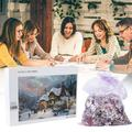 Christmas 1000 Pieces Wooden Adult Children Puzzle Holiday Gift Pattern Puzzle