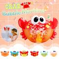 Automatic Bubble Blower Bubble Machine Crab Bubble Blower with Music for Kids Toddlers