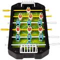 Kicko Soccer Game - 1 Mini Foosball Table - Miniature Football Game - Tiny Soccer Game - Miniature Collections, Ideas, Christmas Present, Holiday Stocking Fillers, 1 Pack