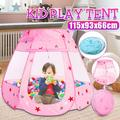 Play Tent Portable Foldable Prince Princess Castle Folding Tent Children Play House Funny Toys Kids Gifts Outdoor Toy Tents Castle
