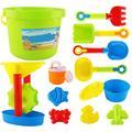 Hapeisy Beach Toys Set for Kids,Beach Set and Soft Plastic Pool Toy Set;Beach Toys Set for Kids,Beach Set and Soft Plastic Pool Toy Set