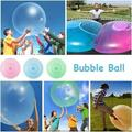 40/120CM Soft Bubble Ball Inflatable Fun Ball Amazing Super Bubble Ball Inflatable Antistress Ballon Outdoor Water Toys