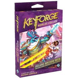 Fantasy Flight Games KeyForge Worlds Collide Deluxe Deck, Model:KF06, Introduces two new Houses to the world of the Crucible By Brand Fantasy Flight Games